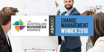 Change Management Awards 2018